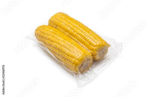 vacuum packed corn
