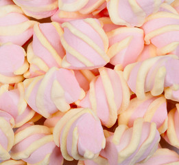Pink and yellow Marshmallow