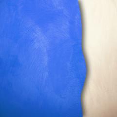 spazio blu e bianco