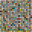 Abstract geometric seamless background of color squares