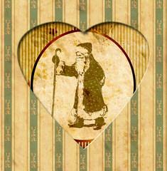 Vintage Heart - Weihnachten