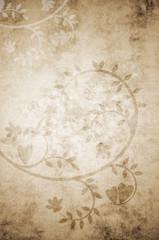 Hintergrund Floral Herzen