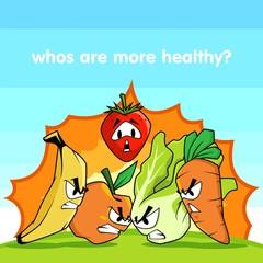 Fruits vs Vegetables
