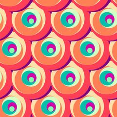 Pattern decorativo con cerchi