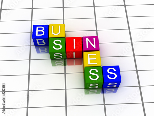 3d word business