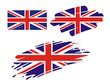 Brush Flags Great Britain