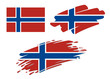 Brush Flags Norway