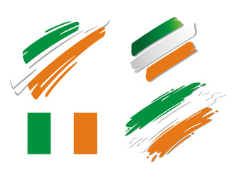 Brush Flags Ireland