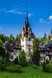 Main tower of the Peles castle poster