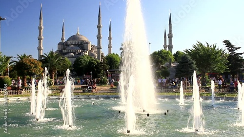 Blue Mosque in Summertime