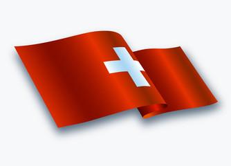 Modern bayrak dizaynı  ( İSVİÇRE )