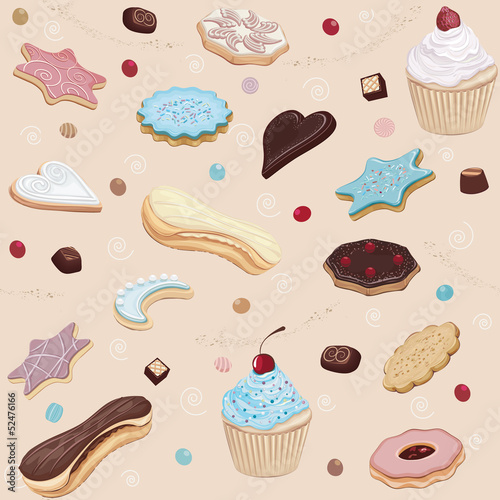 Pastry background