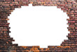 Leinwandbild Motiv Old brick wall