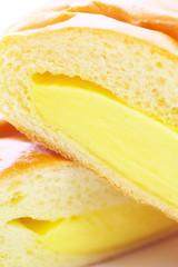 Custard cream bread
