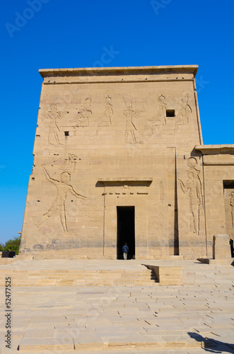 Second Pylon of Philae Temple of Isis, Egypt
