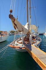 Segelschiff in St. Tropez