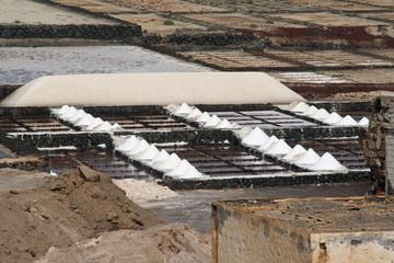 Saline of Janubio, salt refinery in Lanzarote