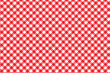 Red Italian Picnic Cloth - 52483937