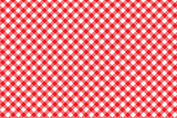 Red Italian Picnic Cloth