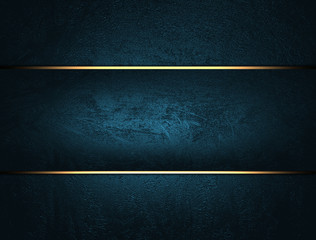 Blue background with blue stripe. The layout for the design