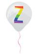 Gay flag alphabet - Z