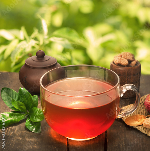 cup of natural tea
