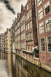 Amsterdam, Netherlands. Beautiful typical city architecture