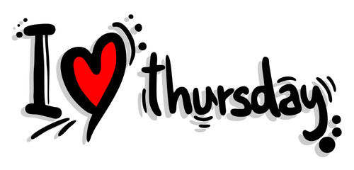 Love thursday