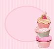 Cupcake place card