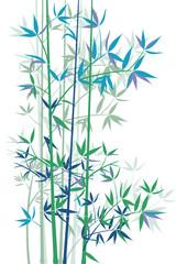Bambuszweige