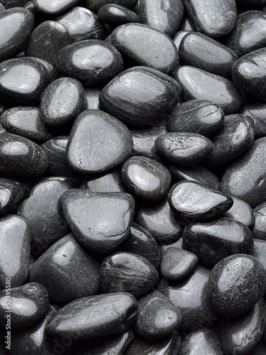 black stones