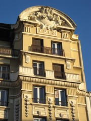 Immeuble ancien Lyon, France