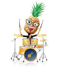 パイナップルのドラム