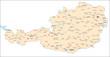 Österreich Städte und Gemeinden