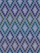 Seamless Light Background of Color Knitted Wool Gingham Squares