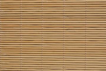 Wooden table mat