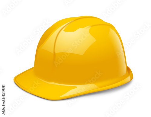 Casque de chantier vectoriel 1