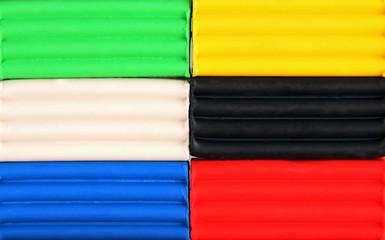 Color children's plasticine.
