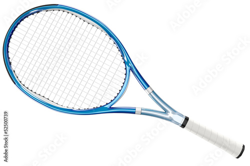 Tennis Racket Blue