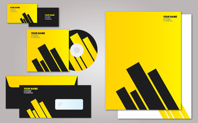 Stationary black and yellow stripes