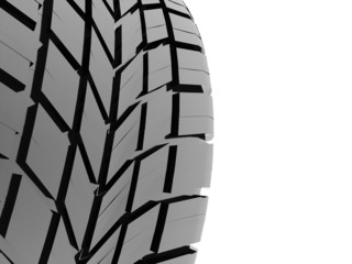 Tire with pattern