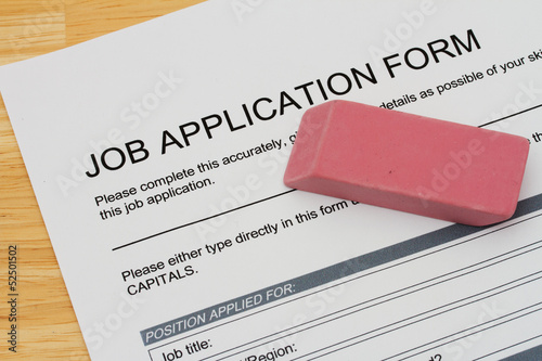 Mistakes when applying for a job