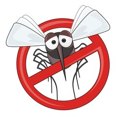 danger of mosquitoes - STOP mosquito