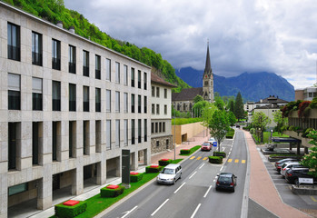 Road in Liechtenstein