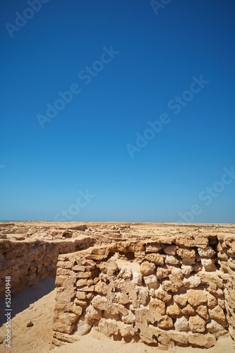 Ruins in Desert