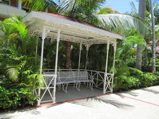 hermoso lugar para la relajación y el descanso