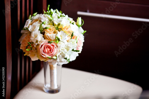 bouquet of wedding flowers
