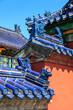 Rooftops of the forbidden city in Beijing