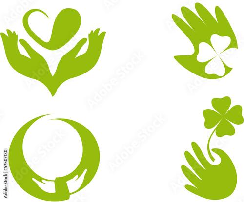 Logo design solidarietà
