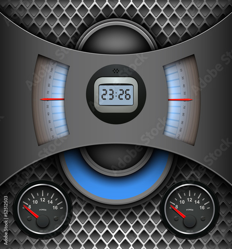 Abstract background, technology vector design.